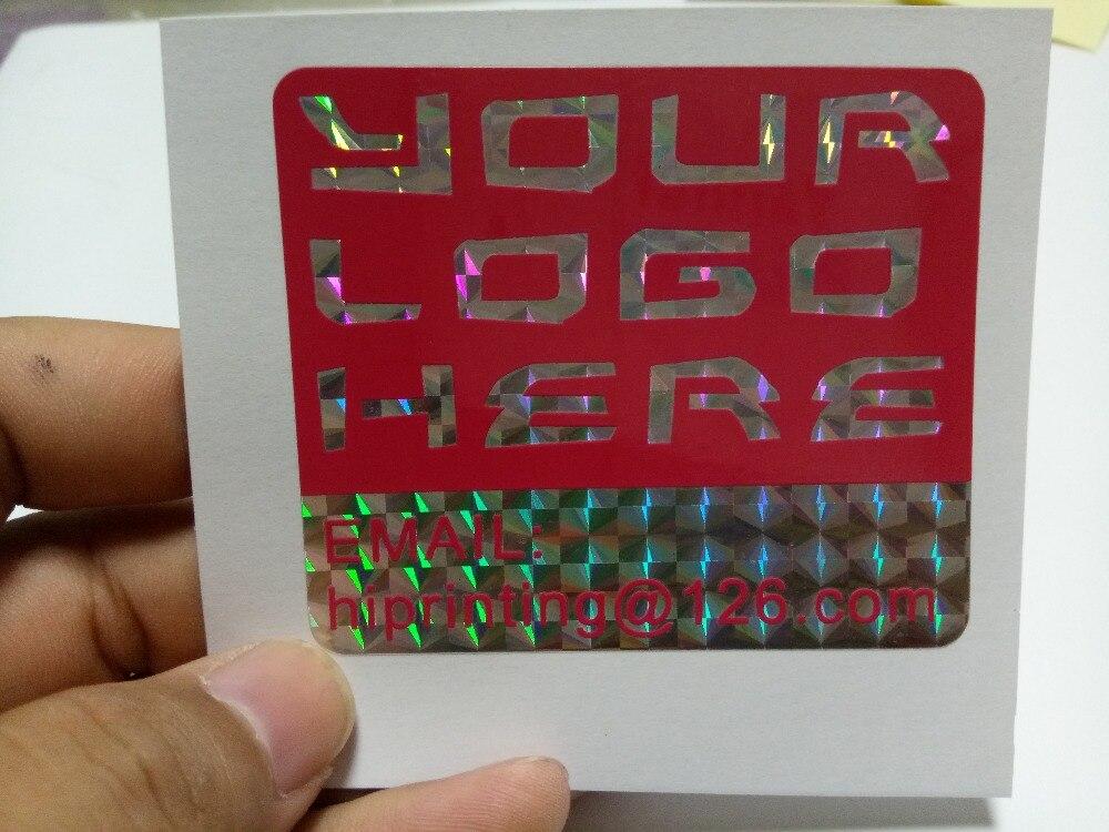 A impressão colorida da etiqueta do vinil,