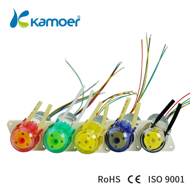 kamoer KFS mini DC peristaltic pump small water pump with high percision micro dosing pump with DC brushless motor 12V/24V kiss бронзирующая пудра light glow face