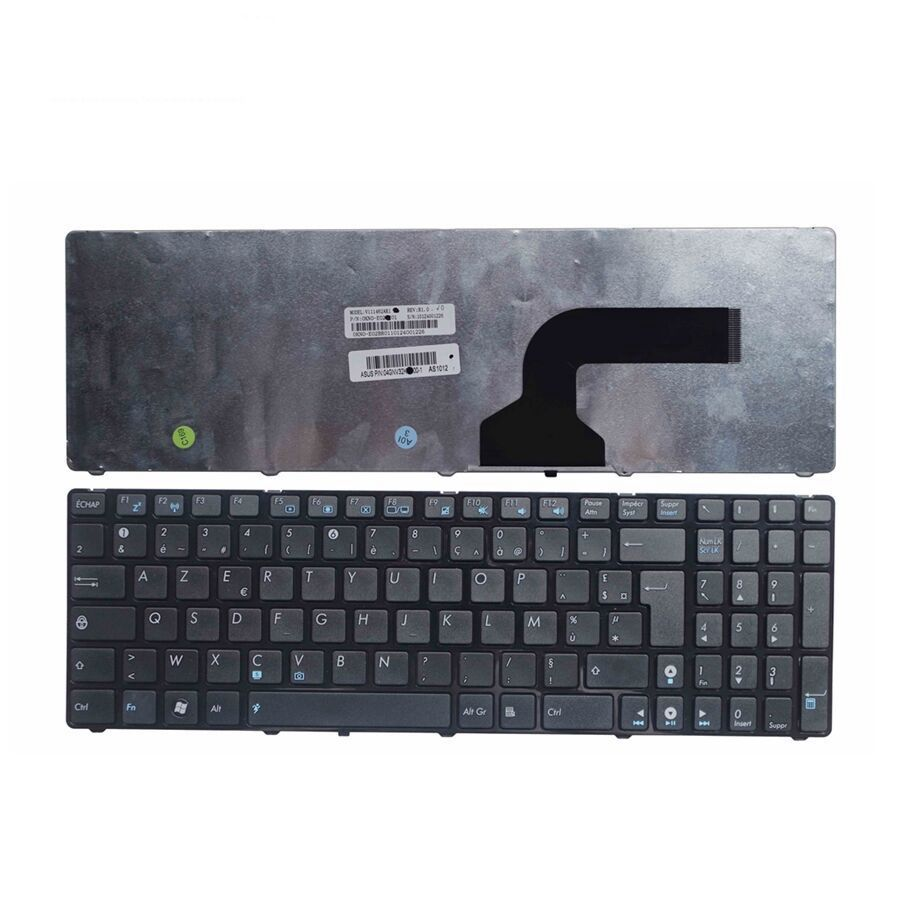 Image 2 - GZEELE NEW French for Asus G72 X53 X54H k53 A53 A52J K52N G53 N53T N61 K53E X52 X52F X52J X55 X55A K73 FR laptop keyboard AZERT-in Replacement Keyboards from Computer & Office on