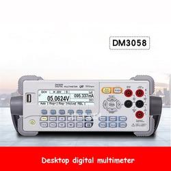 DM3058 pulpit cyfrowy multimetr profesjonalny wysokiej precyzji blat ławki multimetr 5.5 cyfrowy miernik cyfrowy multimetr prądu LCD 100-230V 30W