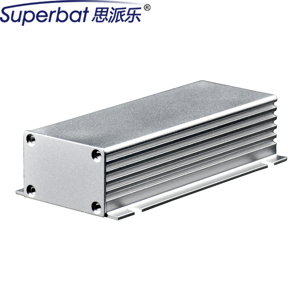 110*43*28mm Extruded Aluminum Project Box Instrument Electronics Amplifier PCB Junction Enclosure Case 4.33″*1.69″*1.10″(L*W*H)