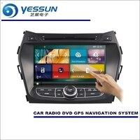 YESSUN Voor Hyundai Maxcruz IX45/Grote Kerstman Fe 2012 ~ 2015 auto Radio CD Dvd-speler Versterker Screen Gps-navigatie Audio Video