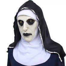 nun Sister Mask Halloween High Latex Creative Fancy Birthday Gift Holiday New Year Game Ghost Chasing Soul