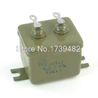 CJ41-2 1UF/630V 5% Metalized Paper in Oil Capacitor 1.1