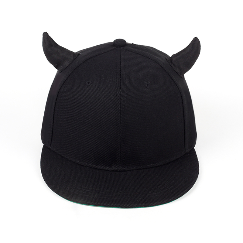 944ddad47130e 2018 new arrival unisex Horns snapback baseball cap hat adjustable ...