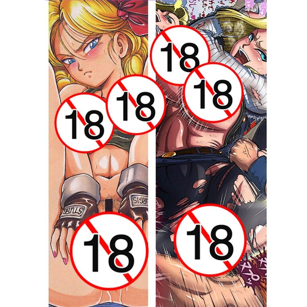 Bettwaren, -wäsche & Matratzen 3d Long White Hair 6 Anime Dakimakura Körper Umarmen Kissenbezug Abdeckung De Feines Handwerk