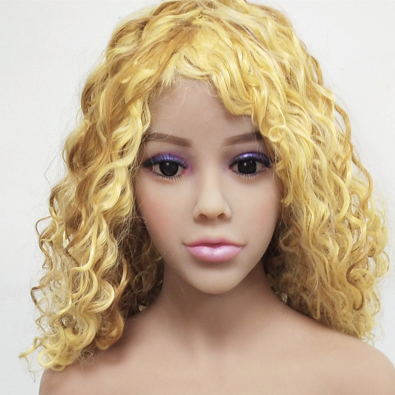 TPE Customize Sexy Head <font><b>Doll</b></font> for 140cm to <font><b>176cm</b></font> Life Size <font><b>Sex</b></font> <font><b>Dolls</b></font> with Oral <font><b>Sex</b></font> Hole Adult Male Masturbation image