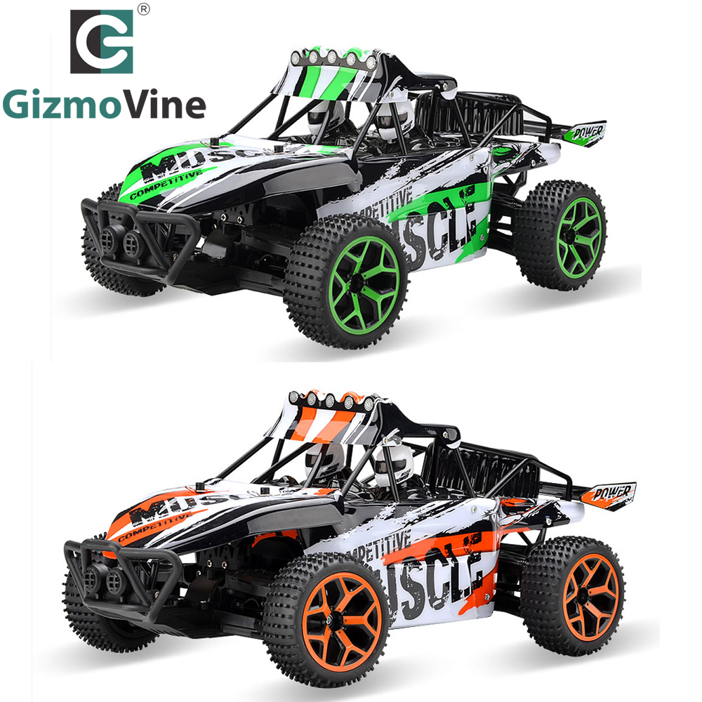 GizmoVine RC Car 1/18 Hobby 2.4G 4CH 4WD Rock Crawlers Double Motors Drive Buggy Remote Control Car Model Off-Road Vehicle Toy