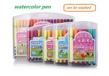 48/36/24/18 Colors Copic Marker Set Highlighter Stationery Sketch Markers Washable Watercolor Pens for Kids Popular Art Supplies