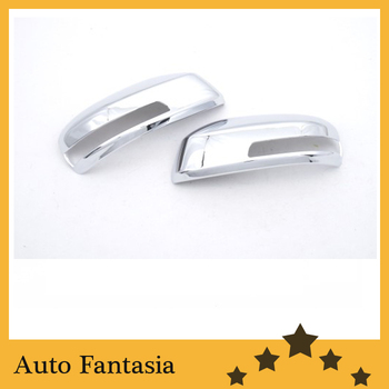 Хромированная боковая зеркальная Крышка для Honda City/Aria 09-12