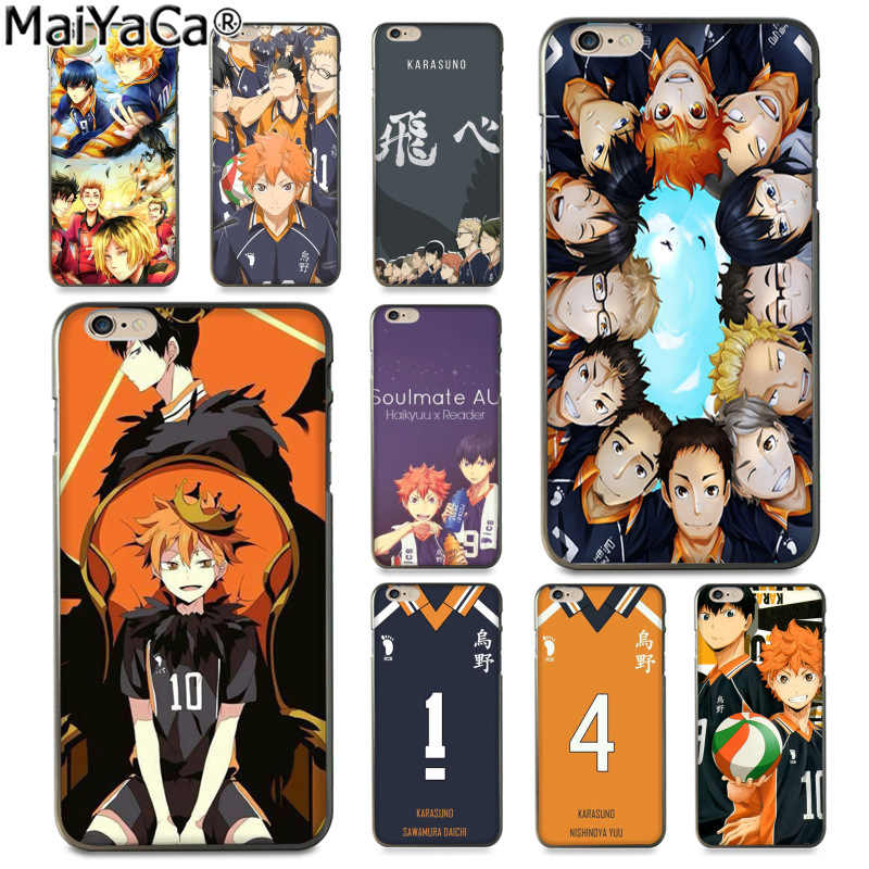 Haikyuu Hinata Case for iPhone XS Max XR X 10 7 7S 8 6 6S