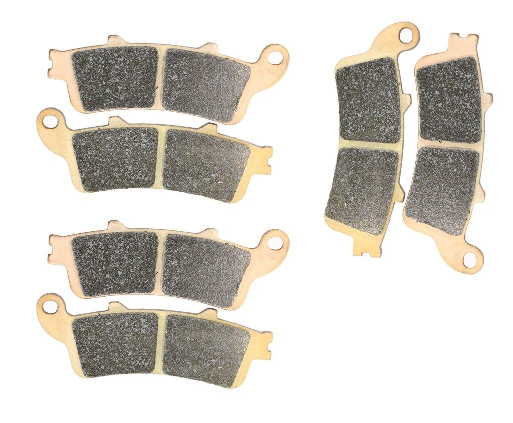 Disc brake pads set fit honda vfr800 vfr 800 fl rc46 k011 1998 1999 2000 2001