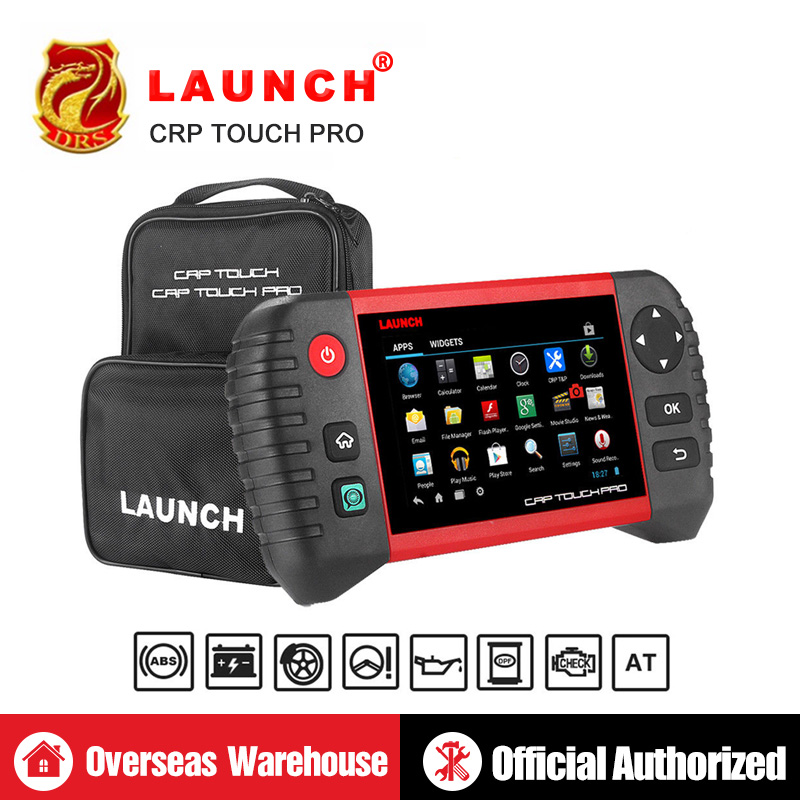 Launch Creader CRP Touch Pro OBD2 Scanner OBDII Diagnostic Tool WiFi Auto Code Reader DPF Regeneration Automotive Tools Tester