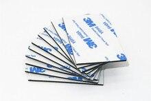 20pcs 50*60mm 3M 9448A Black Double Sided EVA Foam Tape Pad Mounting Auto Car Decorative Article Wall Pendant Home Use