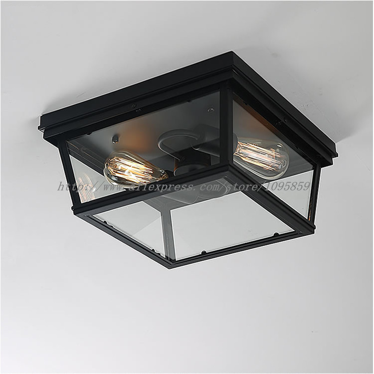Flush Mount Bedroom Lighting: Online Buy Wholesale Glass Ceiling Fixture From China