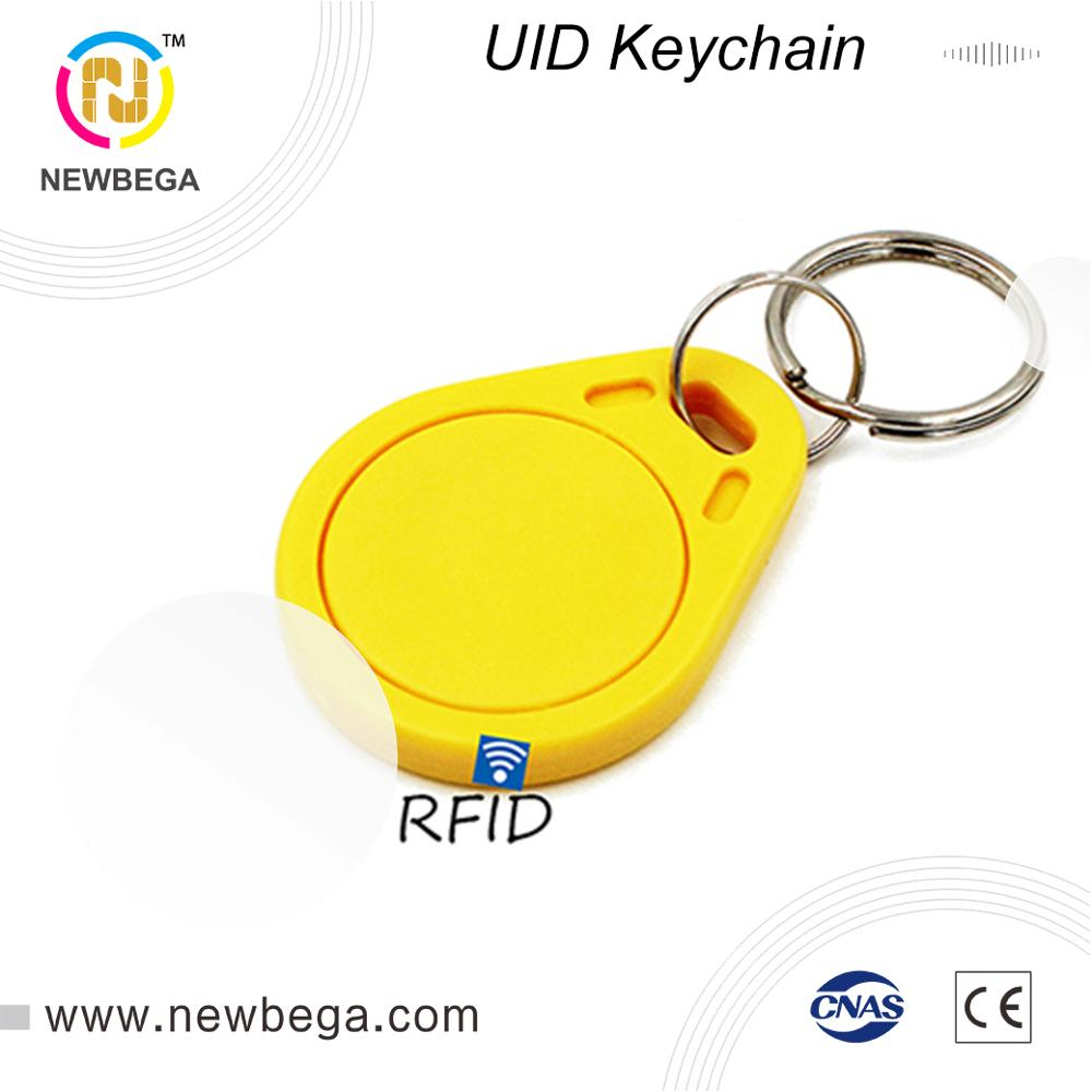 10PCS RFID Block 0 4 Bytes UID Changeable AK003 Keychain HF 13.56MHz NFC Keyfob Free Shipping Fast Delivery