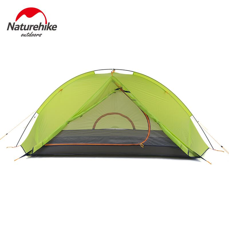 NatureHike Ultralight Outdoor Camping Tent 2 Person Double Layer Aluminum Pole Fishing Beach Tourist Hiking Tent Waterproof outdoor waterproof folding ultralight camping tent 1 2 person double door fishing tourist tent beach tent hiking family tent