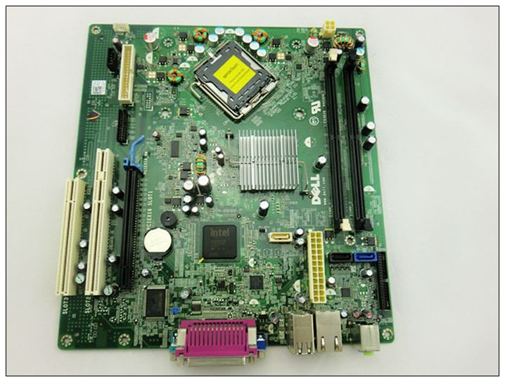 Free shipping 100% original motherboard for OptiPlex 360 DDR2 LGA 775 Desktop PC computer motherboard 100% new desktop motherboard 945gc f fully integrated network support core celeron 775 pin motherboard ddr2 free shipping