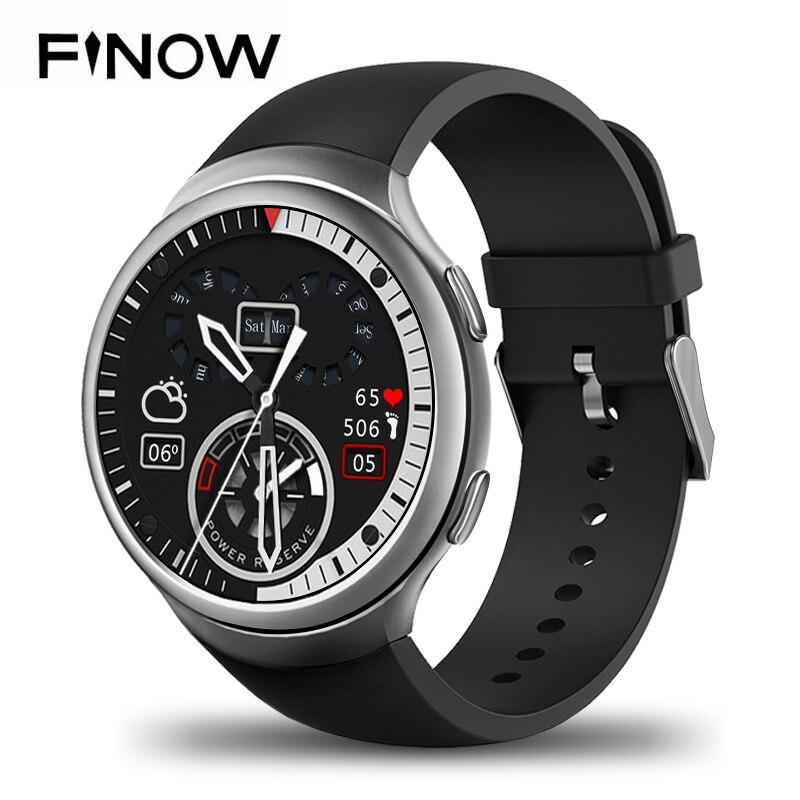 все цены на NEW Finow X3 Plus Smart Watch K9 MTK6580 Andorid 5.1 1G+8G PK KW88 I3 Pedometer Fitness Tracker BT 3G Wifi For iOS&Andorid Phone онлайн
