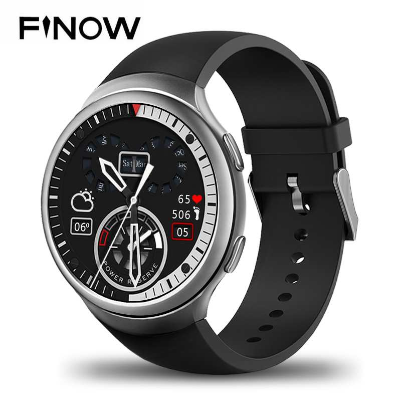 NEW Finow X3 plus Smart Watch K9 MTK6580 Andorid 5.1 1G+8G PK KW88 I3 Pedometer Fitness Tracker BT 3G Wifi For iOS&Andorid Phone finow k9 x3 3g smart watch android4 4 wifi sim card heart rate smartwatch phone for ios