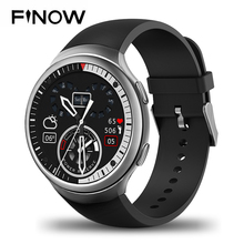 Новый finow X3 плюс Смарт-часы K9 MTK6580 Andorid 5.1 1 г + 8 г PK KW88 I3 шагомер Фитнес трекер BT 3 г Wi-Fi для iOS и Andorid телефон