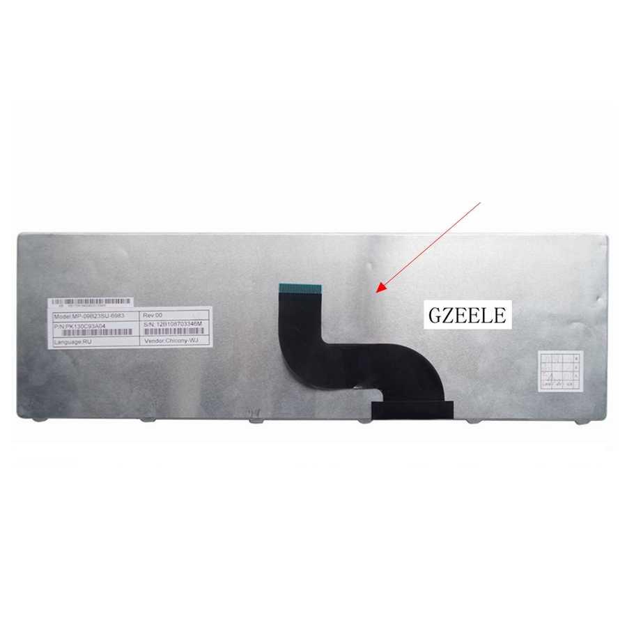 GZEELE Новая русская клавиатура ноутбука для packard Bell Easynote TM93 TM85 TM86 TM87 TM89 9J. N1H82. A1D SN8101 TK13BZ TM01 TM98 RU