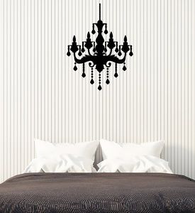Image 1 - Vincy tường táo Đèn chùm phòng ngủ phòng Retro nội thất trần kiểu dáng bóng đèn phòng ngủ phòng khách nhà nghệ thuật giấy dán tường 2WS17