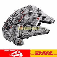 IN STOCK LEPIN 05033 5265pcs Star Ultimate Collector S Millennium Wars Falcon Model Building Kit Blocks