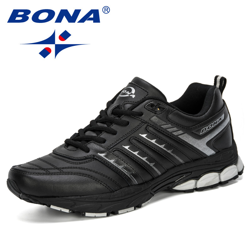 Image 2 - BONA 2019 New Arrival Men Road Running Jogging Walking Sports  Shoes High Quality Lace Up Breathable Male Sneakers ComfortableRunning  Shoes