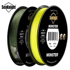 Image 2 - SeaKnight marca S9 trenza línea de pesca 300M 20 a 100LB fuerte, duradero 9 hebras suave línea de PE S espiral trenzado Tech agua salada