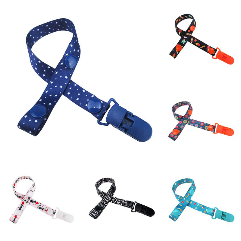 16 Colors Baby Pacifier Clip Chain Dummy Holder For Nipples Para Bebe Children Pacifier Clips Pacifier Holder