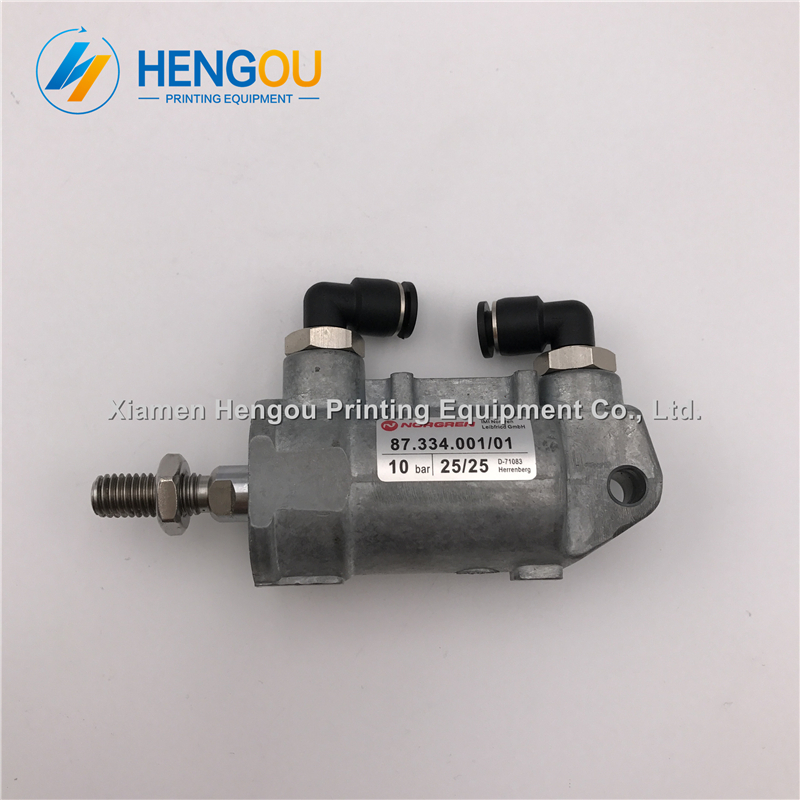 1 piece ink air cylinder 87.334.001 printing parts air cylinder new and durable 1 piece ink air cylinder 87.334.001 printing parts air cylinder new and durable