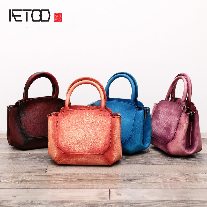 AETOO Spring and summer candy color single shoulder diagonal package original handmade leather ladies small bag handbag tesys d contactor 3p 40a lc1d40a lc1d40an7 lc1 d40an7 415v ac 415vac