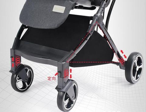 carrinho de bebe pode sentar reclinaveis criancas guarda chuva