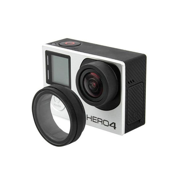 UV Miroir Lentille Optique Lentille En Verre Couvercle De Protection UV  Filtre Pour Gopro Hero 3 3 + 4 Sport Caméra Édition accessoires a28f038996d4