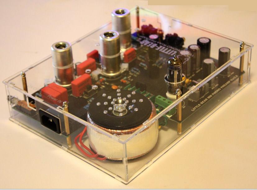 Little Bear T10 Pro Vacuum Tube Phono Pre Amplifier MM Turntable RIAA HiFi V2 6