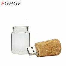 FGHGF wishing bottle USB flash drive pendrive 8GB 16GB 32GB memory stick