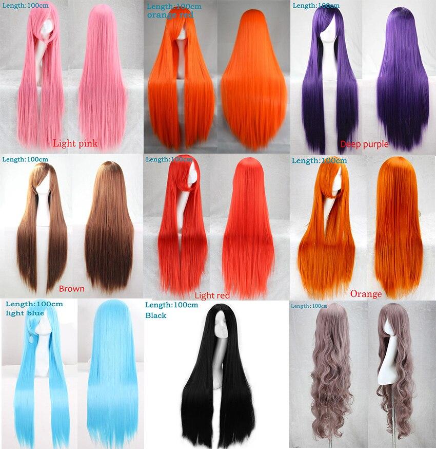 Long Straight Women's Wigs 16