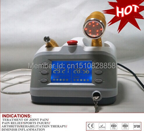 Peralatan terapi Laser Dingin, terapi sinar laser dengan 650nm & 808nm, Kekuatan penyembuhan cahaya !!
