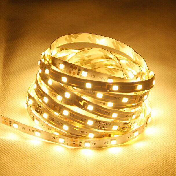 1 meter 6mm width SMD2835 LED Strip Light with 60 LEDs 12V DC Operating Voltage led tape Light