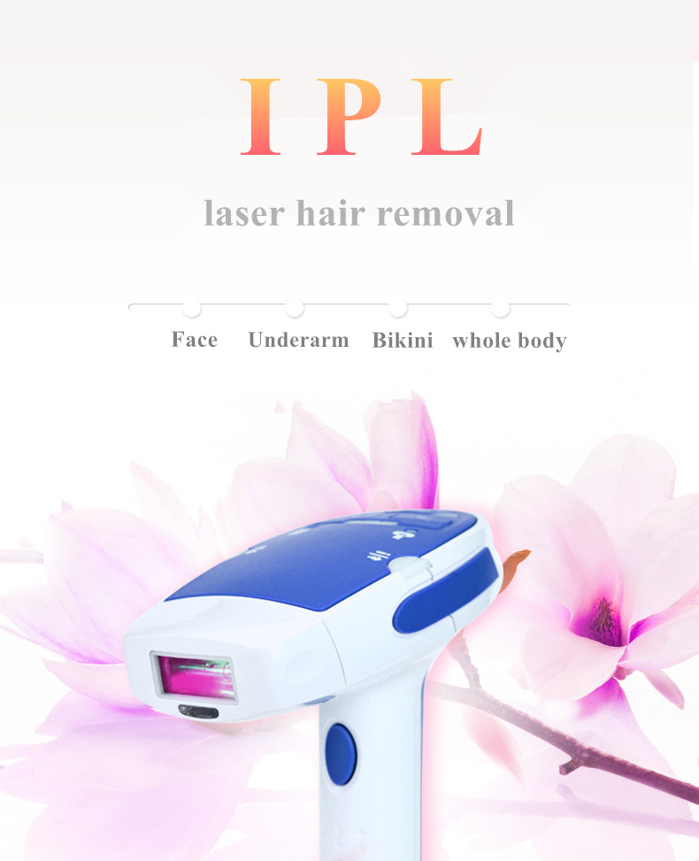 IPL laser Hair Removal Machine for Permanent Body Hair Removal with 1800000 Flashes 6