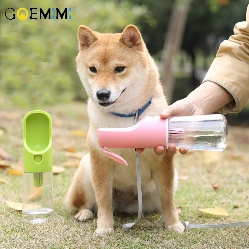 Newest Pet Dog Cat Water Bottle Feeder Drinking Bowl Small Large Dogs Products Travel Cups Outdoor