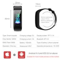 phone screen Smart Bracelet C20 Waterproof Heart Rate Monitor Fitness Tracker Wristband Color Screen Sport Smart Band for Smart Phone (4)