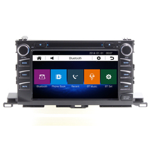 8 inch Car DVD GPS Navigation Stereo for TOYOTA HIGHLANDER 2015 with car video Bluetooth SD USB,Free 8GB map card