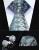 "Festa de Casamento Clássico Quadrado Bolso Gravata TZF02Q8 Laranja Verde Floral 3.4 ""Silk Homens Gravata Gravata Lenço Abotoaduras Set"