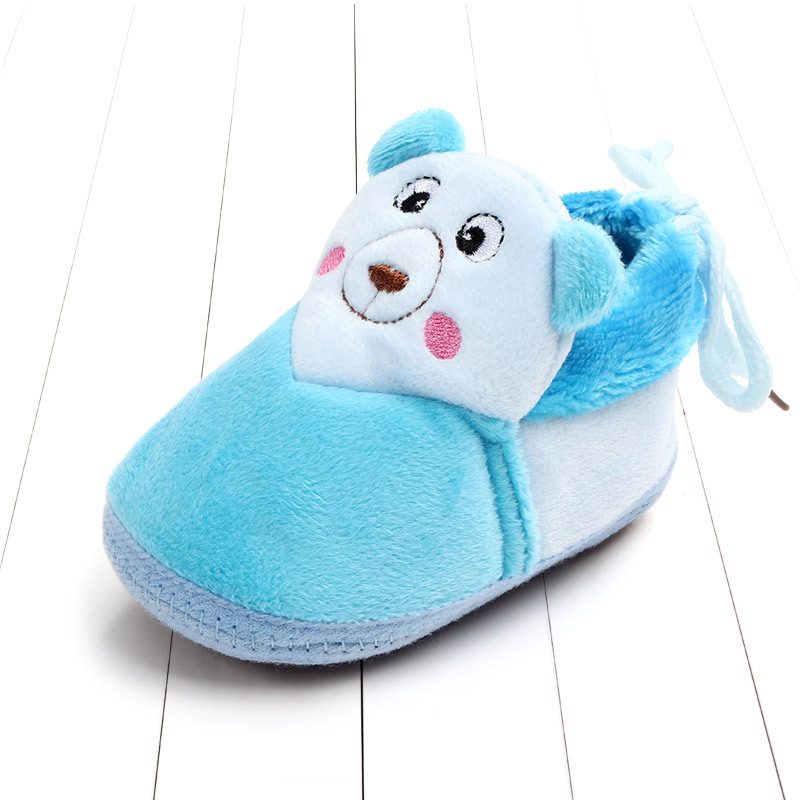 Indoor First Walkers Baby Shoes Cotton Anti-slip Booties Winter Wammer Baby Girl Boy Shoes Newborn Slippers Footwear Booties (7)