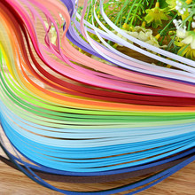 260Pcs/pack 3mm Width Stripes Quilling Paper Solid Color Origami Paper DIY Hand Craft Decoration Pressure Relief Gift(China)