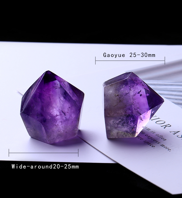 1PC Natural Amethyst Wand Quartz Crystal Repair Crystal Stone accessories Home Decor 22