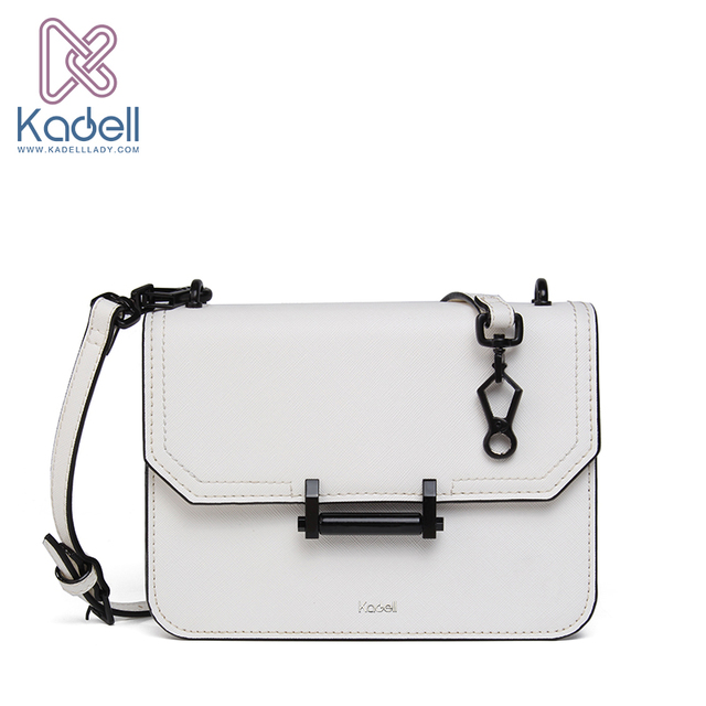 1acba96121da US $146.52 |Kadell Women PU Leather Crossbody Bags High Quality Small Flap  Bag Handbags Women Famous Brands Messenger Shoulder Bags White-in ...