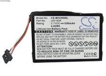 Cameron Sino 1250 mah Bateria para Mitac Mio 138, 268 Milhões, 268 Milhões Mais, Mio 269, 269 Além Disso, C310, C310x, C510, C510e, C710